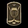 Personalized Hockey Dog Tag Award