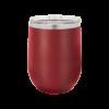Personalized Maroon Wine Tumbler