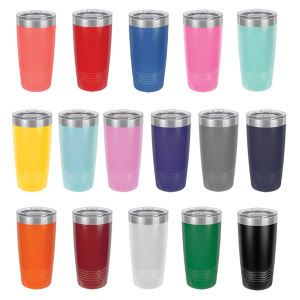 Custom Tumbler Cups | 20 oz Stainless Steel