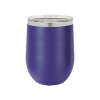 Personalized Purple Wine Tumbler