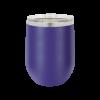 Personalized Purple Wine Tumbler