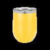 Personalized Yellow Wine Tumbler