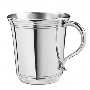 Personalized Carolina Style Pewter Cup