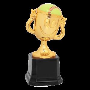 Softball Trophy Award