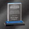 Impress Acrylic Award Blue