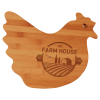 Personalized Chicken Shaped Cutting Board