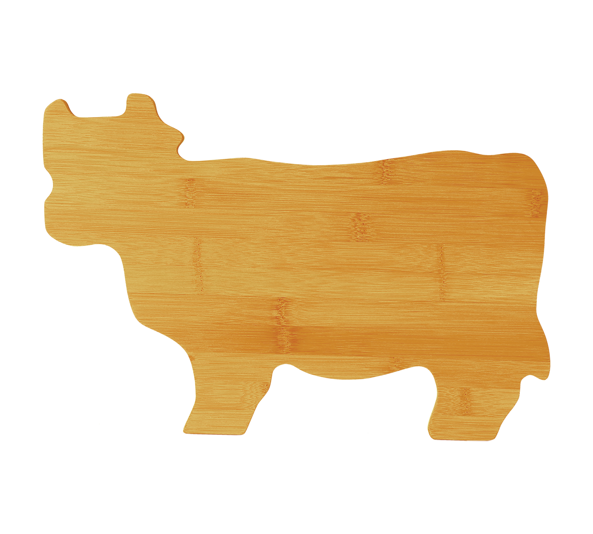 Cow Cutting Board-Personalized-Bamboo