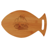 Personalized Fish Shaped Cutting Board