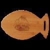 Personalized Fish Shaped Cutting Board
