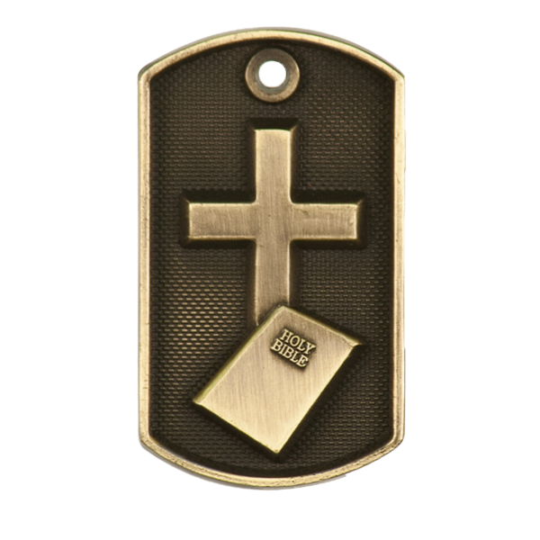 Personalized Religious Dog Tag Award