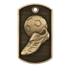 Personalized Soccer Dog Tag Award