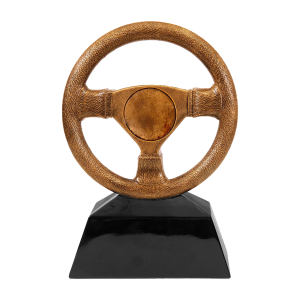 Steering Wheel Trophy