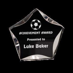Acrylic Star Award Clear