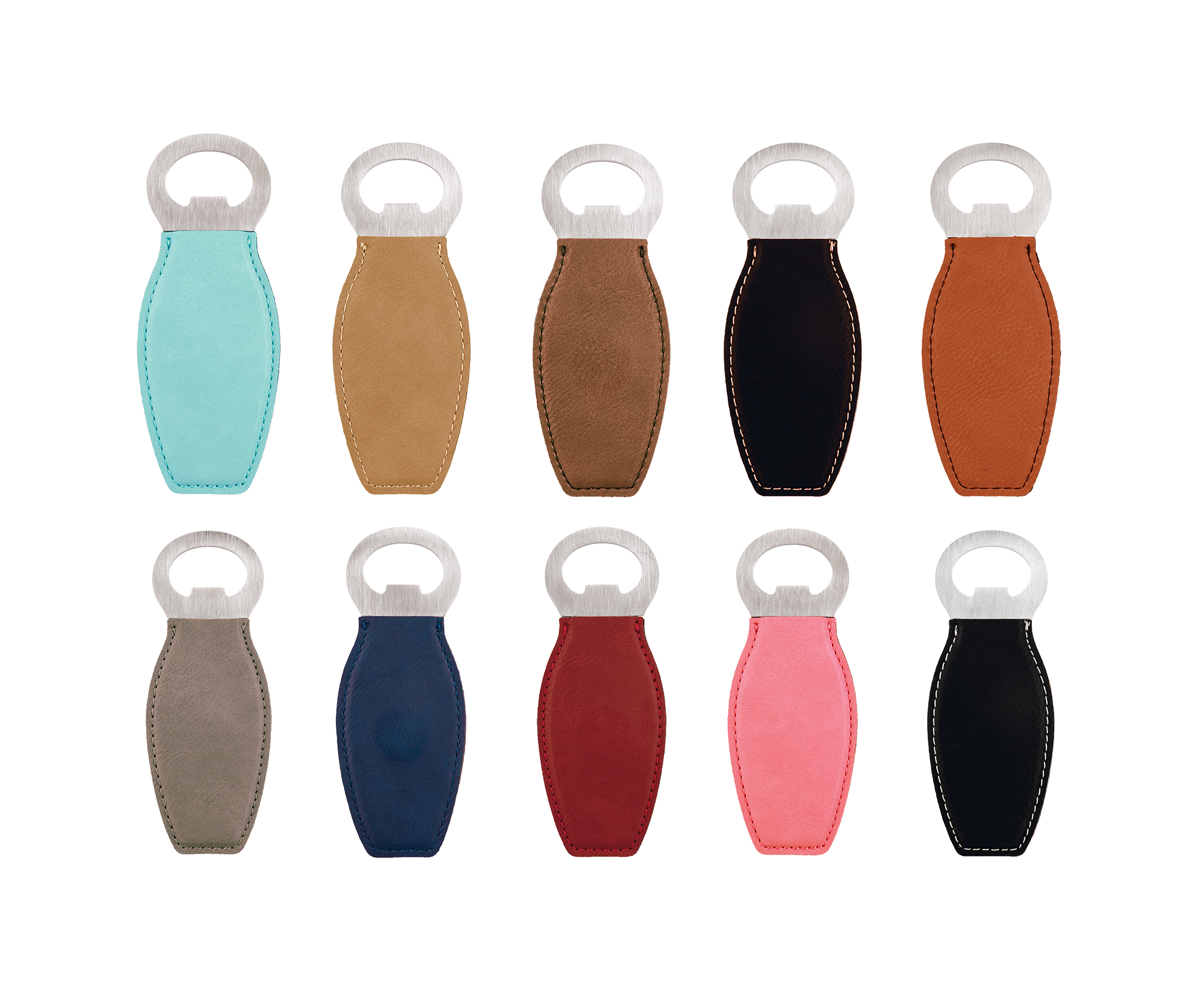 Personalized Leatherette Bottle Openers
