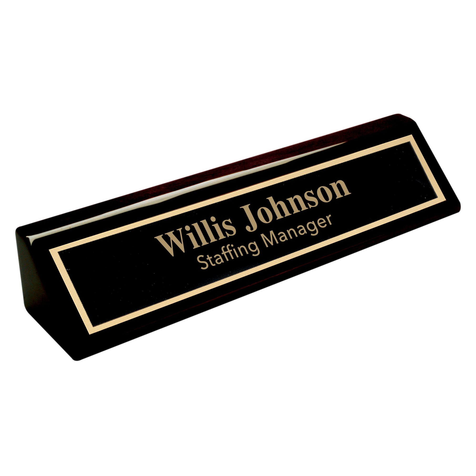 Desk-Plaques-Black-Piano-Finish-Desk-Wedge