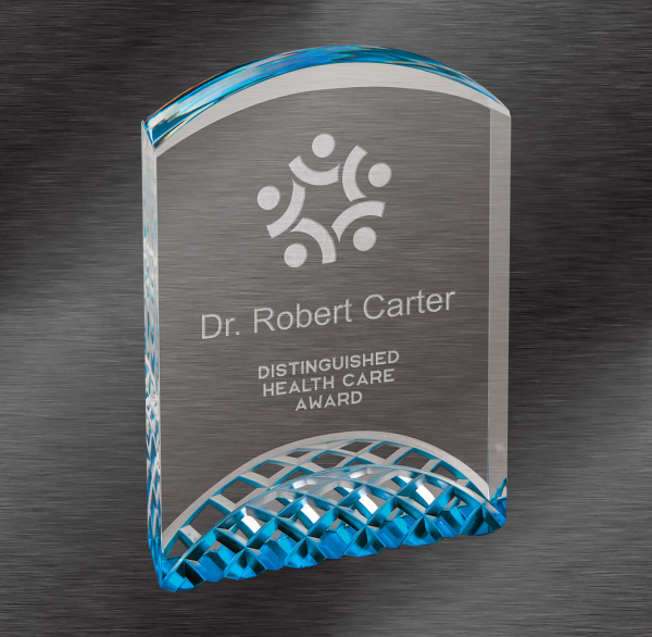 Blue Horizon Acrylic Award