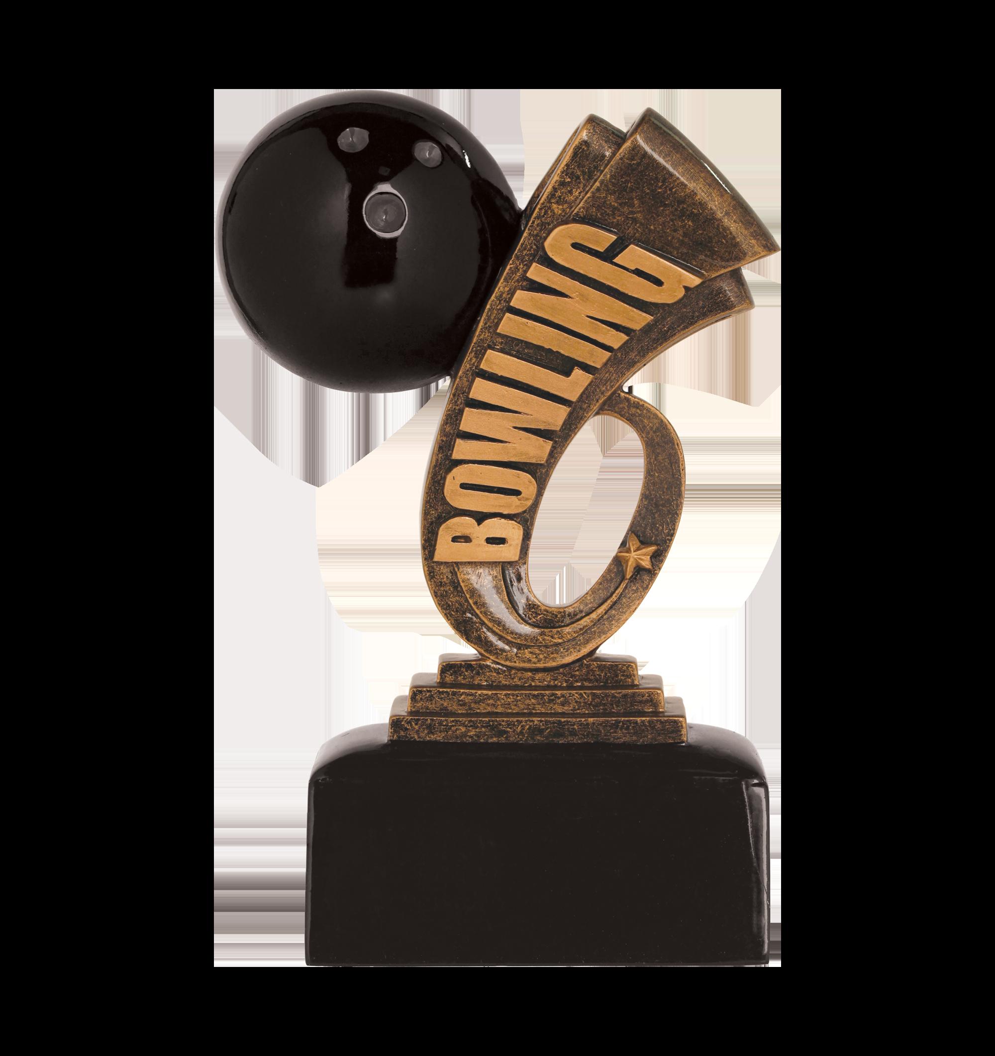 Bowling Award Trophy
