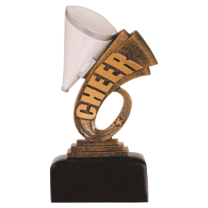 Cheerleading Award Trophy