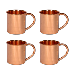 Copper Mug 14oz Set of 4
