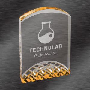 Gold Horizon Acrylic Award