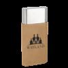 Light Brown Cigar Case