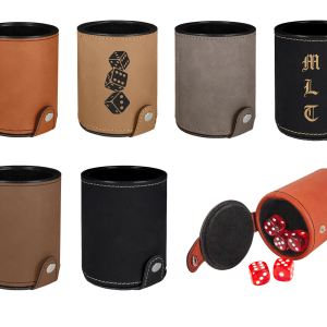 Personalized Dice Cups