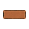 Saddle Leather Name Badge