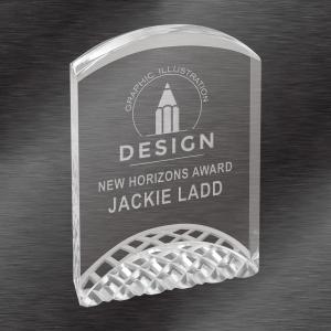 Silver Horizon Acrylic Award