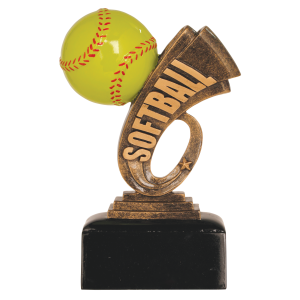 Softball Award Trophy