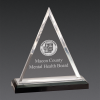 Triangle Acrylic Awards Silver