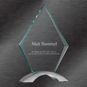 Cosmic Diamond Acrylic Award