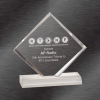 Diamond Beveled Acrylic Award