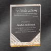 Jewel Mirage Acrylic Award Gold
