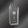 Riptide Acrylic Award Silver