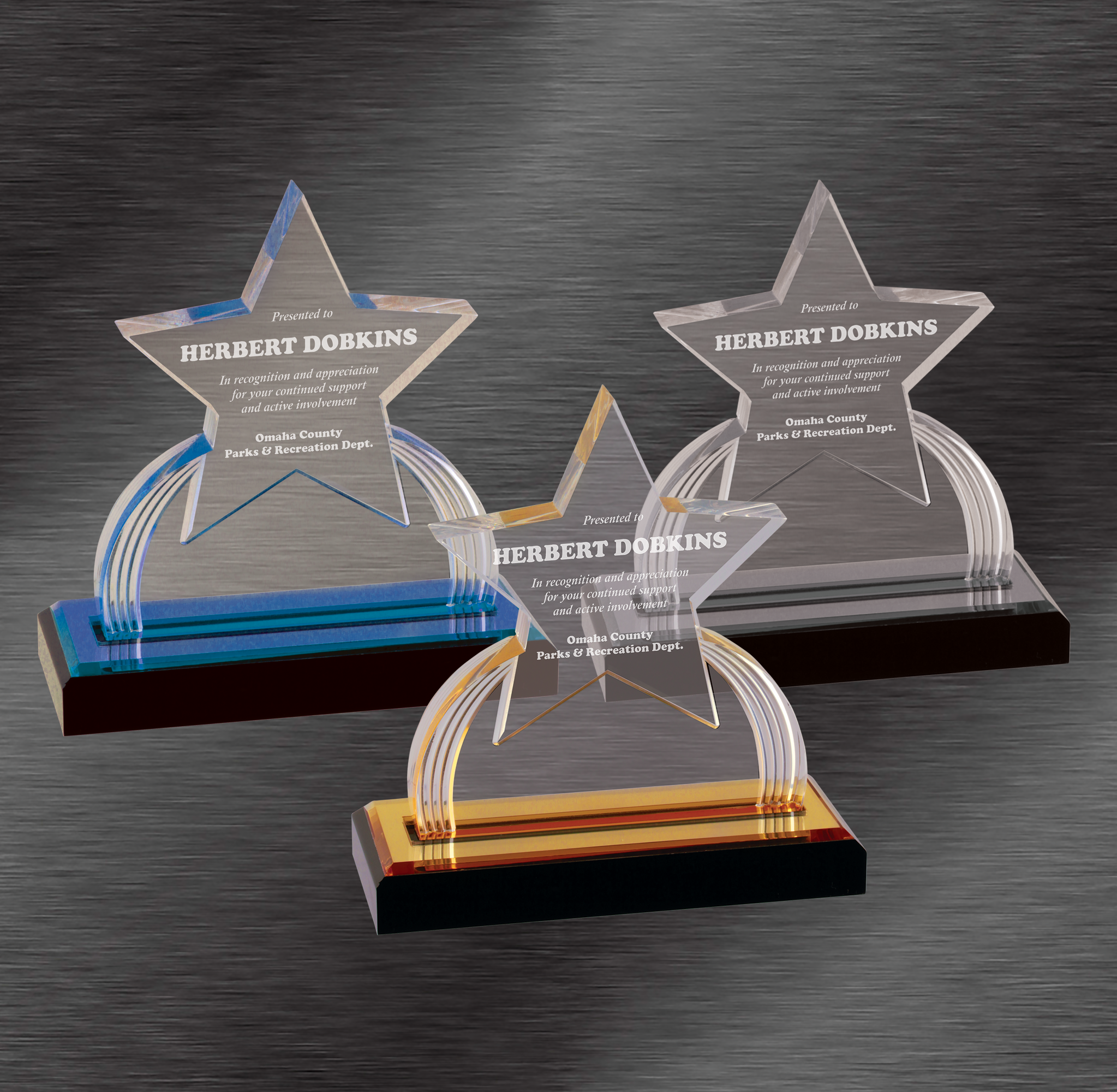 Rising Star Awards | Star Acrylic Award