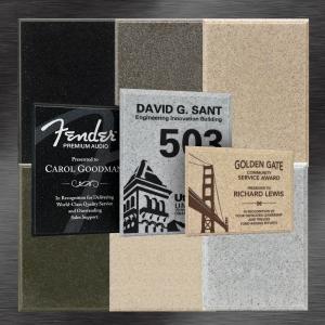 Custom Outdoor Plaques - Stone Plaques