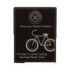 Leatherette Plaque Black/Silver