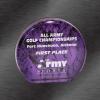 Marble Aurora Acrylic Award Purple