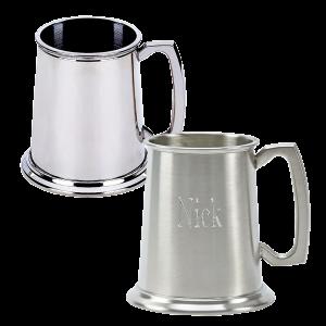 Personalized Pewter Tankard Mug