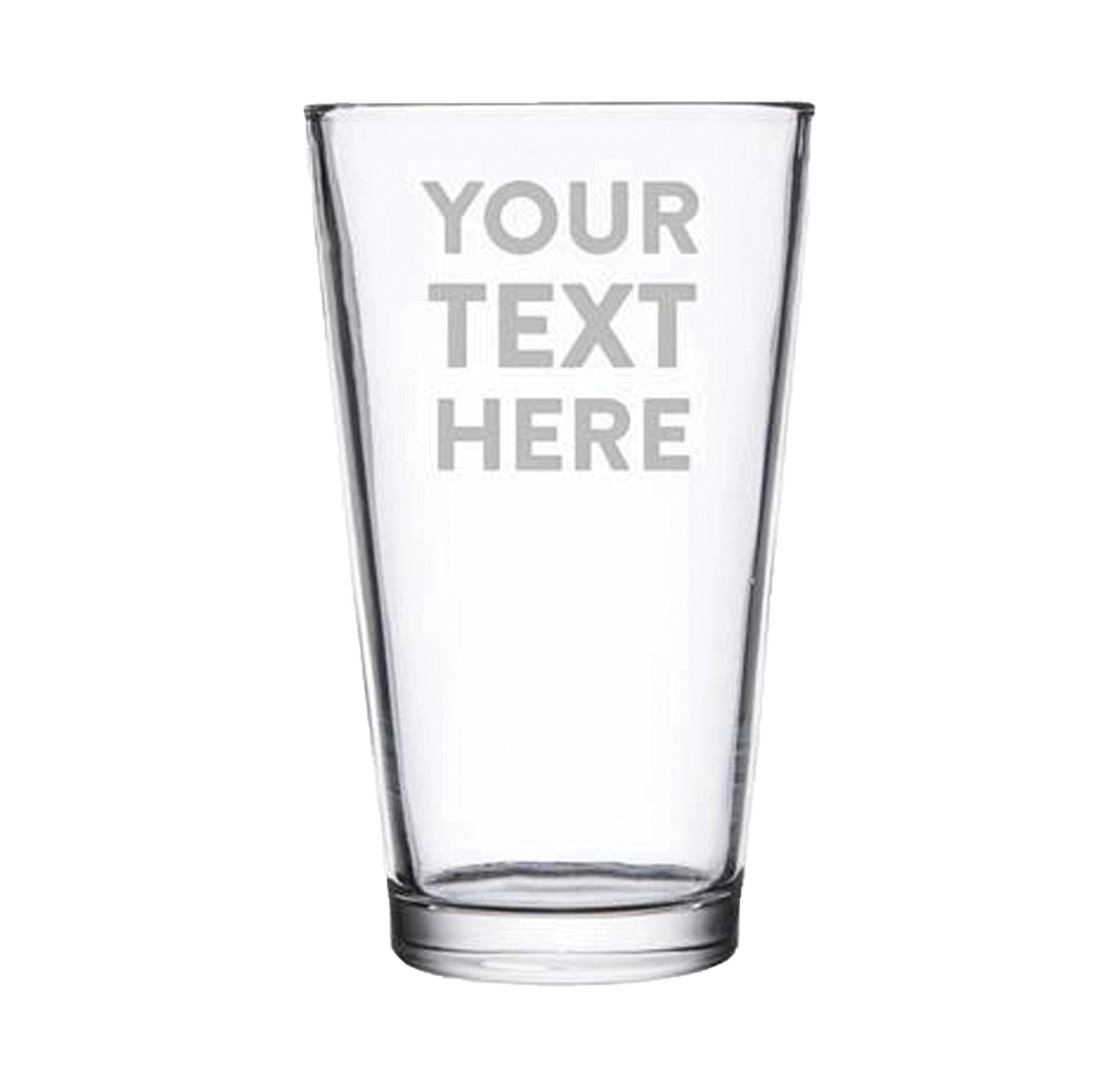 personalized pint glass custom engraved