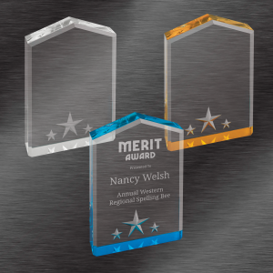 Employee Recognition Awards | Star Point Acrylic Award