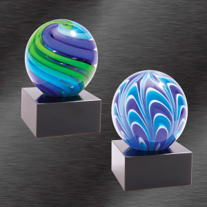 Two Tone Sphere Award