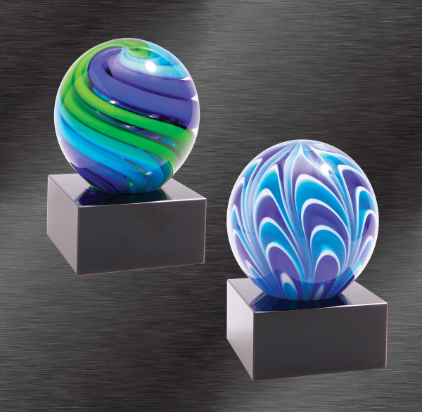 Two Tone Sphere Award