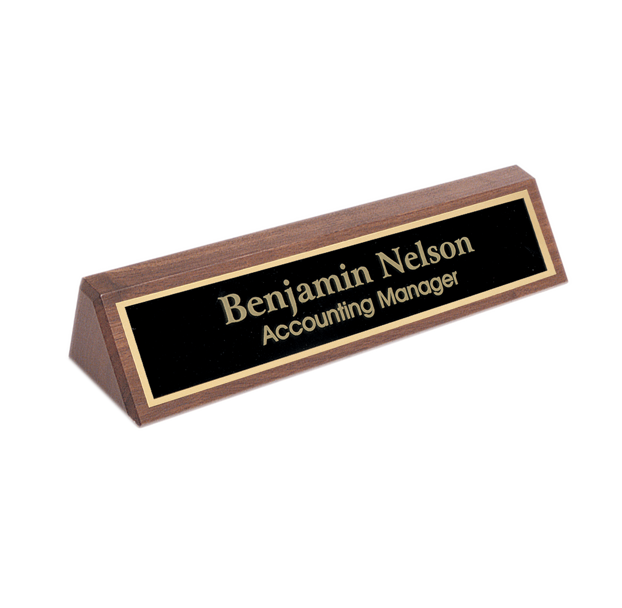 Personalized-Desk-Name-Plate-Solid-Walnut