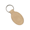 Light Brown Oval Keychain