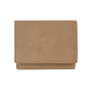 Personalized Light Brown Tri Fold Wallet