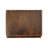 Personalized Rustic Tri Fold Wallet