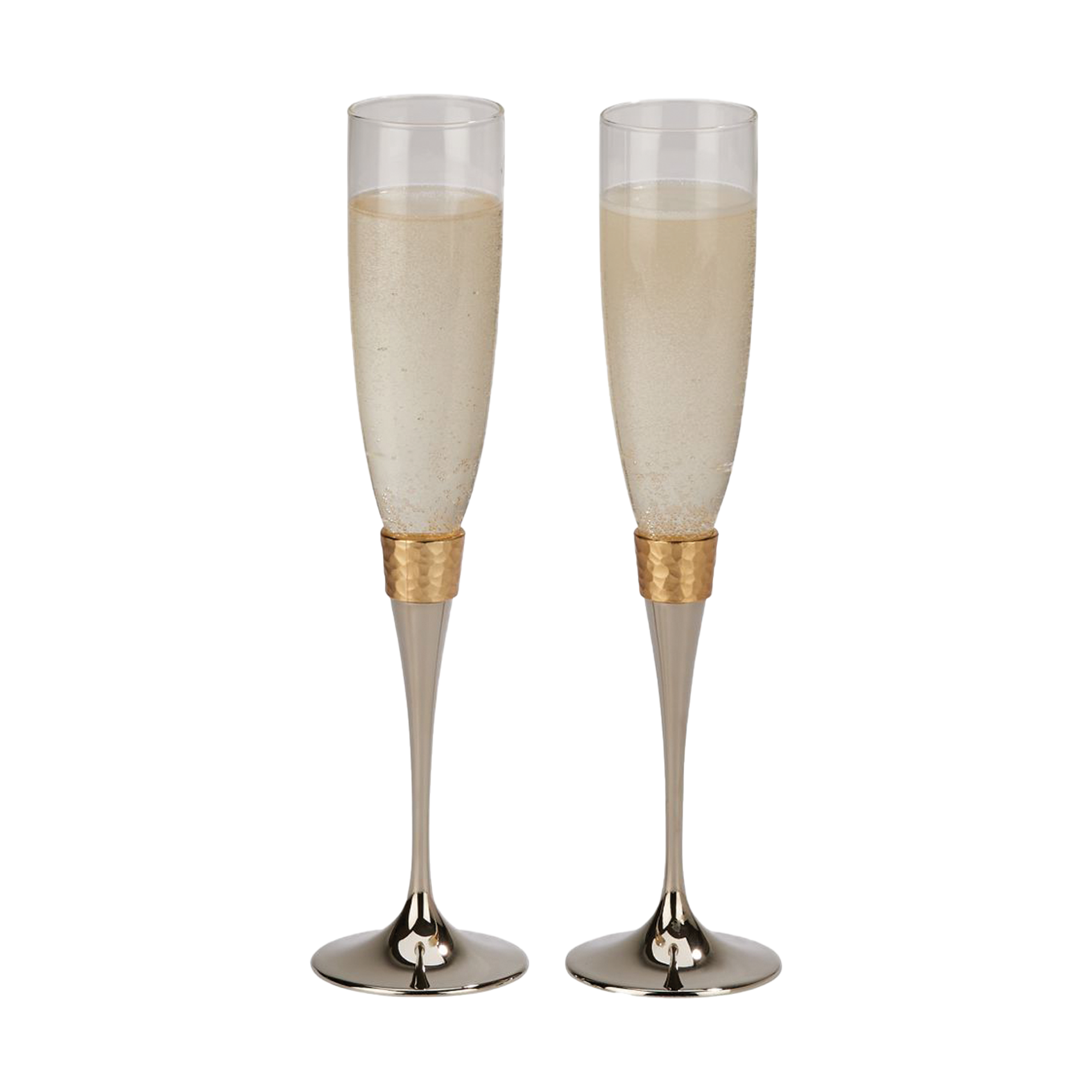 Personalized-Champagne-Flutes-Gold