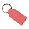 Pink Rectangle Keychain