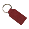 Rose Rectangle Keychain
